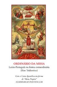Ordinário da Missa-Latim-Português na Forma Extraordinária